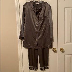 Calvin Klein Pajama Set Sexy Pants and Top Small